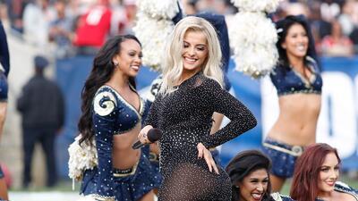 Las bellas porristas hicieron la fiesta de la NFL fuera de la competencia en la Semana 14