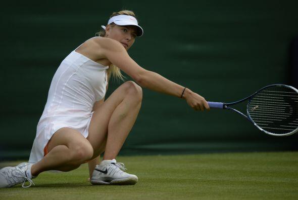 La segunda sorpresa: Sharapova también fue eliminada.