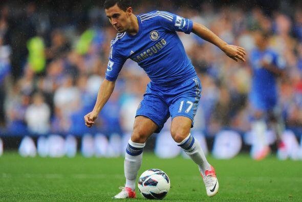 Medios, Eden Hazard: De nueva cuenta este jugador entró a este once euro...