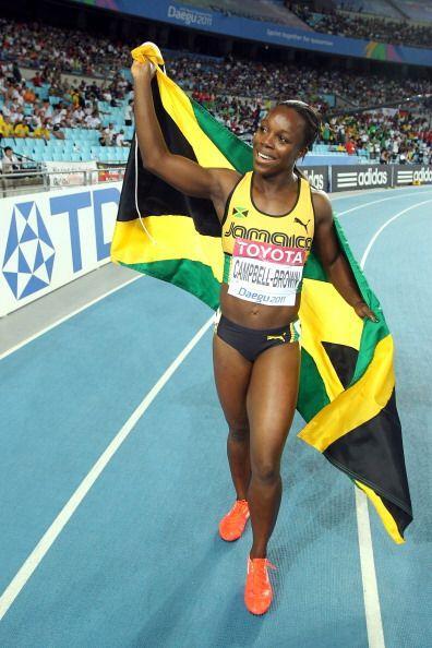 La jamaicana Verónica Campbell, derrotada por la estadounidense Carmelit...