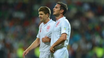 Gerrard y Lampard compartieron muchos años en la selección inglesa.