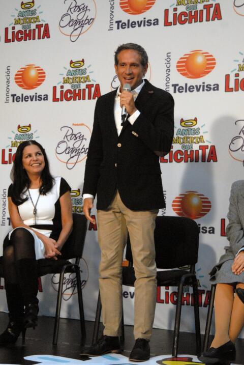 """El actor está emocionado por interpretar a """"Roberto""""."""