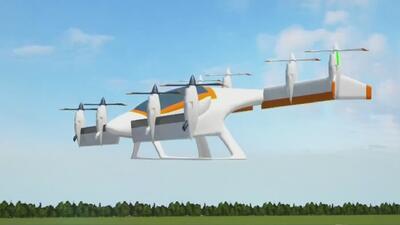 Ponen a prueba en California el primer taxi volador no tripulado de Airbus
