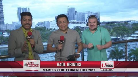 El Show de Raúl Brindis te da los buenos días desde Miami