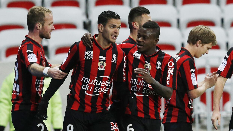 Hatem Ben Arfa hizo un doblete para el Niza