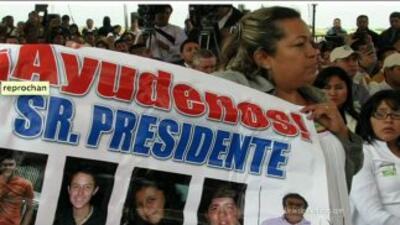 Disparos y desapariciones en México