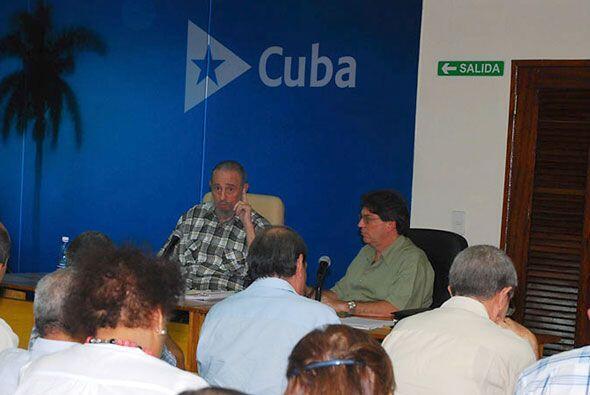 La televisión cubana transmitió un segundo video de Fidel Castro, en men...