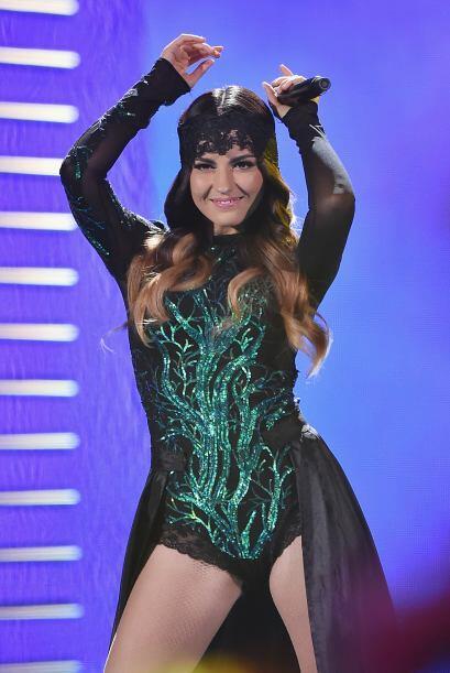 Maite Perroni deleitó al público con su interpretación de 'Vas a querer...
