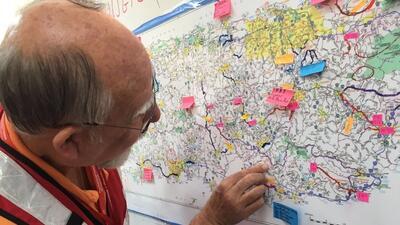 Durante la planificación de la distribución de ayuda en Sa...