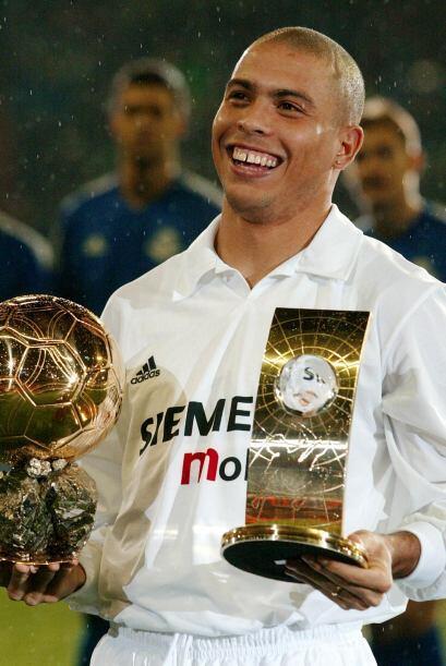 RONALDO (2002-2007)  Partidos: Liga 127, Champions 36, Copa del Rey 11 y...