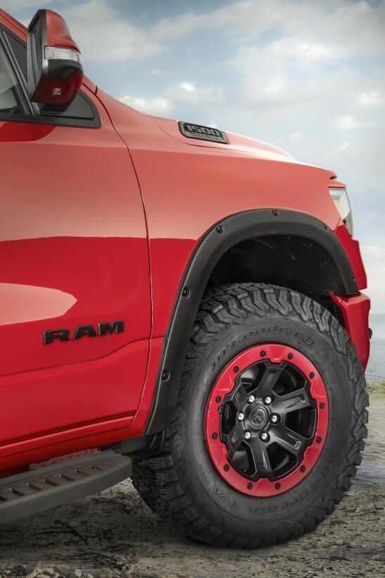 RAM 1500 Big Horn 4x4 Red Flame