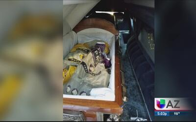 Narcotraficantes transportan droga a través de la frontera en cadáveres