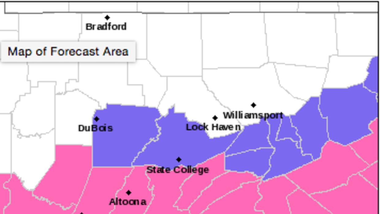 ¿Qué regiones serán las más afectadas por la tormenta de nieve? Screen%2...