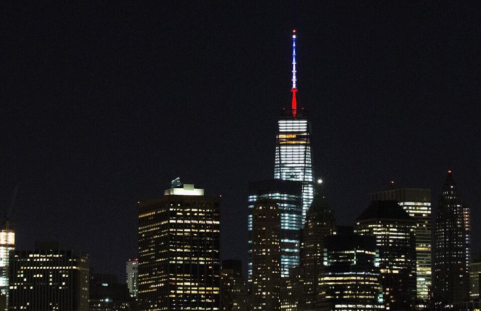 Los edificios del Empire State y el One World Trade Center se han unido...