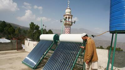 La Energia Solar Termica Es La Fuente Mas Economica Y Limpia Para - Calefaccin-econmica