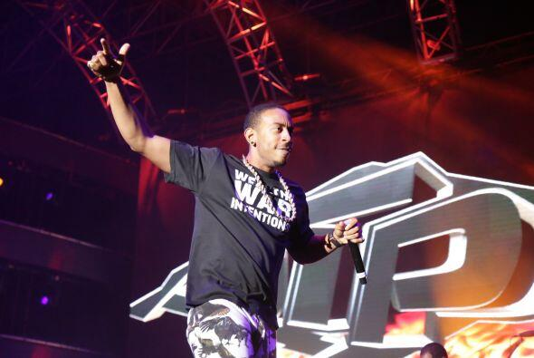Ludacris rocked the main stage at the Uforia Music Festival, bringing hi...