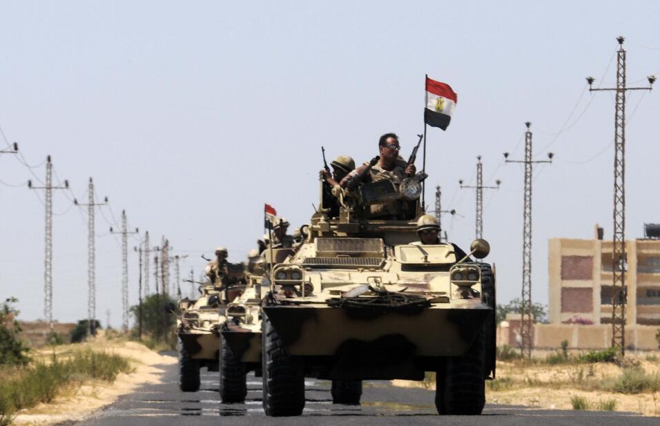 Militares Egipto