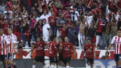 Atlas derrotó 1 - 0 a Chivas en el clásico tapatío