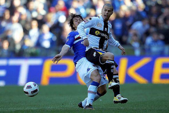 El Parma se metió a la casa de la Sampdoria, que está sumido en una dura...