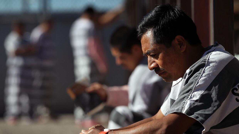 Cárcel de inmigrantes de Mariciopa, Phoenix, Arizona.