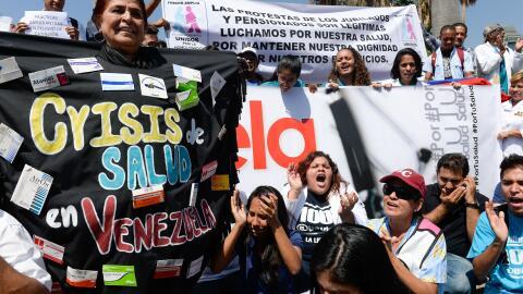 Una enfermedad que se creía erradicada está matando a niños en Venezuela...