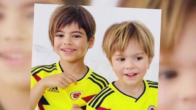 Ternura y pasión por el fútbol: así los hijos de Shakira apoyaron a la selección Colombia