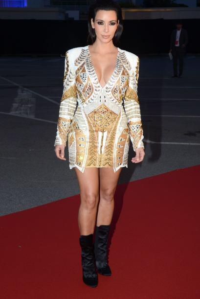 No todos los outfits que le ha recomendado Kanye a Kim han sido exitosos...