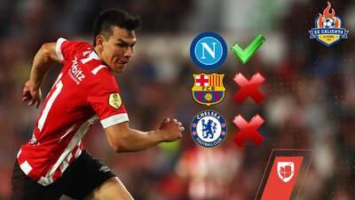 ¡Todos los detalles! 'Chucky' regresa a entrenar con el PSV mientras el Napoli acelera para ficharlo