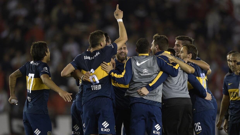 Nicolás Lodeiro anotó el único gol del partido.