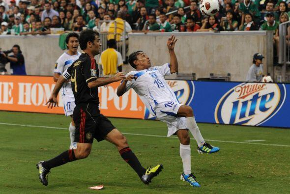 Javier Portillo fue de lo más destacado para Honduras, quien por...