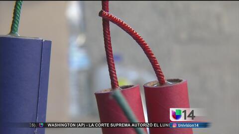 Alertan por uso de fuegos artificiales durante los festejos del 4 de julio