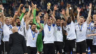 Alemania ganó el título que le faltaba, la Confederaciones
