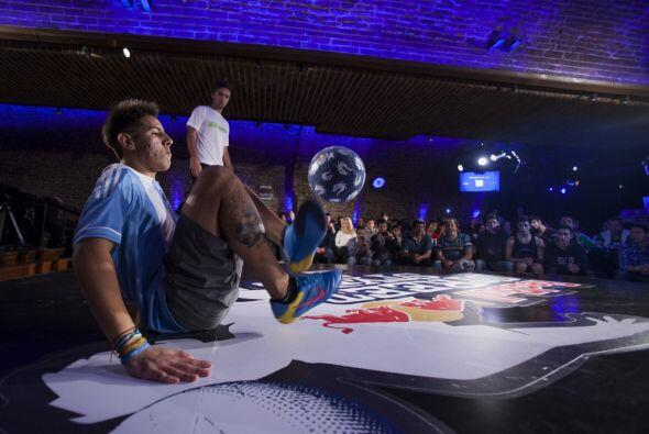 Cada jugador tiene 30 segundos para enseñarle a los jueces su destreza c...