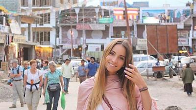 Lisa Gonçalves, dentista, portuguesa, novia de André Gomes y amante de los viajes