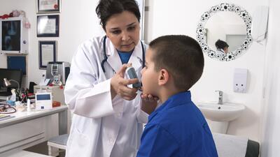 salud asma niños
