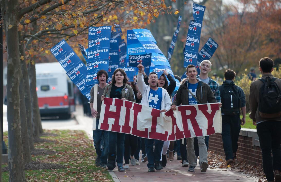 Jornada electoral en Pennsylvania tiene en vilo a ambos partidos GettyIm...