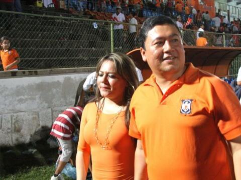 El presidente del Club Deportivo Aguila, Wilfredo Salgado, no se caracte...
