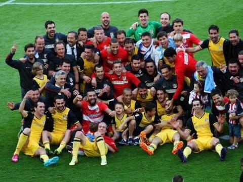 Atletico de MAdrid ganó su décima Liga de España ga...