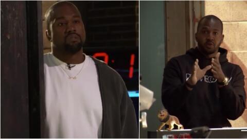 Kanye West fue confrontado por un periodista de TMZ.