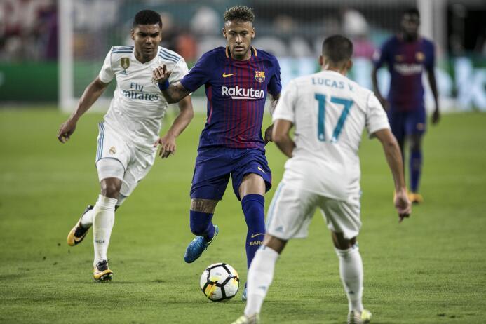 Los últimos momentos de Neymar como jugador de Barcelona 636369906223535...