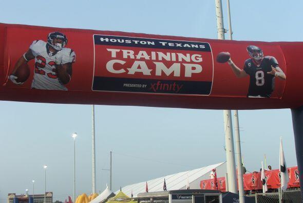 Práctica Texans 2012