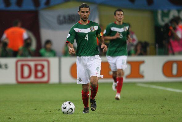 Rafael Márquez ha sido un referente de la defensa verde por más de 10 añ...