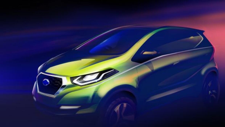 El concepto del vehículo representa la posible orientación de la direcci...