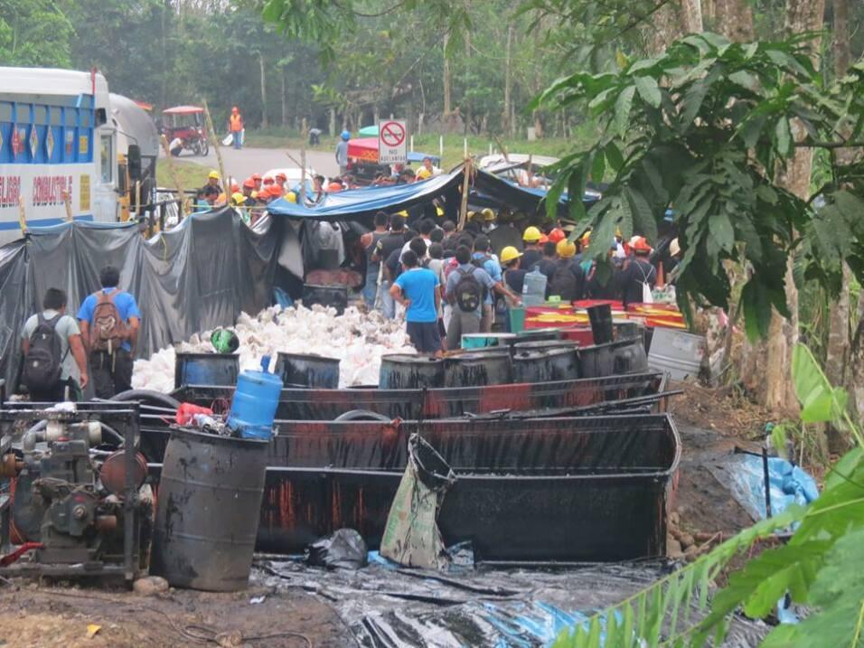 1er derrame-25 de enero en Chiriaco (Imaza, Amazonas)