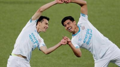 ¡Al grito de guerra! Erick Gutiérrez tuvo debut soñado en el PSV