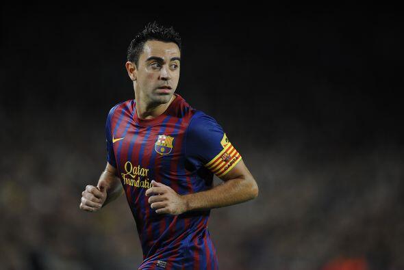 Xavi es otro de los jugadores en los que descansa el poderío del Barcelona.