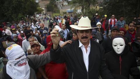 El expresidente hondureño y coordinador general de la Alianza de...
