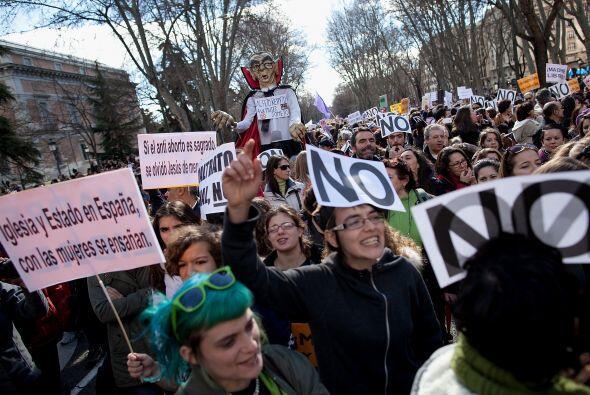 Su objetivo fue protestar por una iniciativa de ley del gobierno que bus...