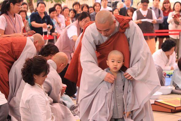 En estos eventos participan decenas de personas que acompañan a sus hijo...