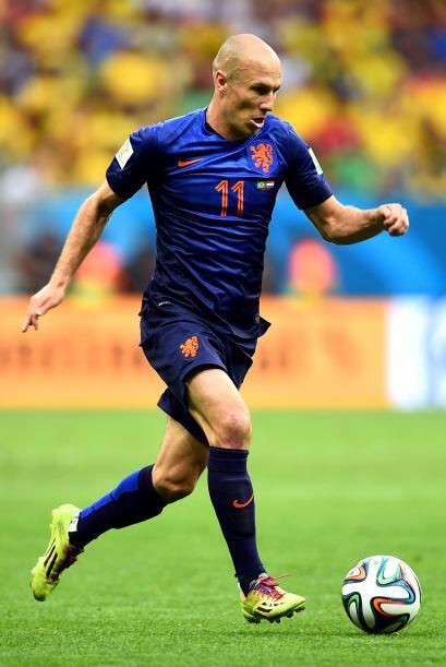 Robben protagonizó el 2014 con inagotables gambetas, desbordes y...